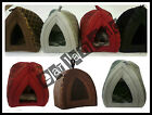 DOG CAT KITTEN SOFT IGLOO BED WARM CAVE HOUSE MAT LUXURY BASKET PET DOG PUPPY