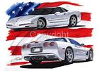 1999 AMERICAN MUSCLE CAR T-SHIRT #4769 vette sports car auto art