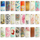 Leiers Fashion Embossed Patterned Soft Silicone Rubber Back Case For Apple Phone