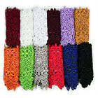 "5-1/8"" Green Orange Blue Black 10 Colors Floral Venice Lace Trim Guipure By Yard"