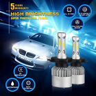 980W 147000LM All-In-One LED Headlight Kit H4 HB2 9003 High/low Beam 6000K Bulbs