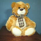 Large Musical Teddy Bear, 14 Inch Plush Stuffed Animal Chestnut and Golden Brown