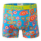 ODDBALLS NEW Men's Boxer Shorts Blue Psychedelic Underwear BNWT