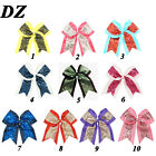 8inch Big Sequin Cheer Bows Clips Hand Made Bling Girl's Cheerleading Hair Bow