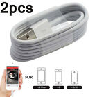 2×USB Sync Data Charging Charger Cable Cord For Apple iPhone 5 5C 5S 6 6 PLUS 1M