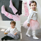 "Vaenait Baby Kids Girls Tights Bottom Trousers Socks 3Set ""S.Ribbon"" 100-210mm"