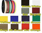 """1 1/2"""" Nylon/Poly Strap Webbing Many Colors to Choose From-By the Yard"""