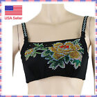 3376 Sexy Fashion Rhinestone Crystal Burlesque Lingerie Belly Dance B Cup Bra
