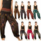 Women Harem Pants Festival Hippie Gypsy Boho Smock Trousers