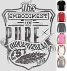 Pure Awesomness Awesome Funny T-Shirts Men's Ladies Singlets Long Sleeve Aussie