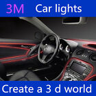 EL LED Interior Dash Ambient Footwell Strip Show Light Ford Holden Toyota Mazda