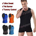 Mens Hot Neoprene Thermo Shapers for Weight Loss Vest Body Shaper Slimming Belt