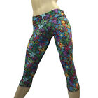 Star Pants Galaxy SuperHero Solid Low Rise Capri Pants SXYfitness MADE IN USA