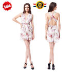 Sexy Women Chiffon Backless Playsuit Bodycon Party Jumpsuit Romper Trousers
