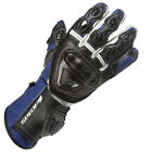 Spada Curve Leather Sport Race Motorcycle Gloves Black/Blue