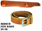 "DURACUIR Construction Leather Tool Belt With Lumbar Support 4"" Occidental"