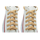 2 Pairs Flat 27,36,45,54,63* Athletic Sports Sneaker *Beige* Shoelace Strings