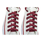 2 Pairs Flat 27,36,45,54.63* Athletic Sports Sneaker Burgundy Shoelace Strings