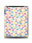 RAINBOW FLORAL PATTERN HARD BACK CASE COVER FOR APPLE iPAD 2 / 3 / 4