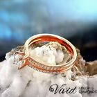 Natural Women Diamond Engagement Ring 14k Gold 1.06 TCW SI/I-J Size 5.5 Enhanced