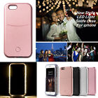 LED White Light Up Latest Selfie Phone Case Cover For iPhone 5 SE 6 6S 6 Plus