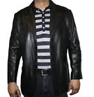 Men's Two Button Genuine Soft Lamb Western Continental Blazer Coat ~~~