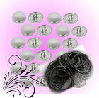 50 Hair Tie Kit  Self Cover Buttons 23mm Kit DIY optional Tools - AUSTRALIA