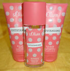 s.Oliver Outstanding woman women Deo 75ml oder Body Lotion,Duschgel 150ml Neu