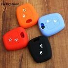 Silicone car key cover case fit for Peugeot 106 206 307 207 408 Car styling