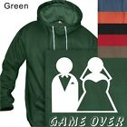 MEN'S PULLOVER HOODIE GAME OVER - HUMOR #131- S to  PLUS 4XL