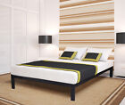 Ecoscomfort Wood Slat Bed Frame K-500 No boxspring Needed TFQK 14BF03