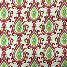 Prestigious Aztec Fabric, 100% Cotton, 137cm Wide, Red