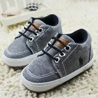 Baby Toddler infant boy Girl Soft Sole fashion prewalker Crib Shoes 0-18 Month