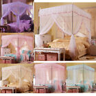 Lace Flowers Princess Bedding Canopy Mosquito Netting Twin Full Queen King Size