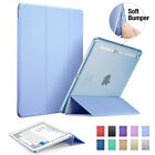 iPad Air 2 Smart Cover Light Weight  Color PU Leather Soft Corner iPad 6 Case