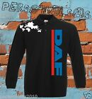 POLO DAF shirt LONG SLEEVE nos tuning truck LKV TIR holland style vertical logo