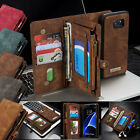For Samsung Galaxy S7/ S7 Edge Leather Wallet Magnetic Card Flip Case Cover Skin