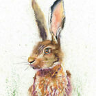 HELEN ROSE Limited Print of my HARE original watercolour painting 160