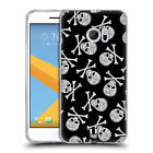 HEAD CASE DESIGNS SKULLS PATTERNS SOFT GEL CASE FOR HTC PHONES 1