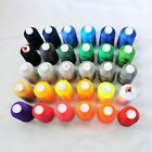 Big Cone Embroidery Thread Polyester 5000M Black, White, Red, Multiple Colors