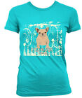 Frenchie Cream - French Bulldog Women's Fitted Tee New