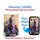 custom cover photo - Personalized Custom Phone Case Cover Photo Picture For Samsung Galaxy Y