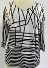 Valentina  Top Multi Colored   Style 10990  Studed Polly NWT  Size Small