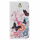New Flip Stand PU Leather Wallet Phones Case Cover Patterned For SamSung Galaxy