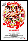 Pizza Girls Hot and Saucy FRIDGE MAGNET 6x8 Magnetic Porn Movie Poster