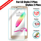 9H Premium Real Tempered Glass Screen Protector for LG Stylo 2 / Stylus 2 Plus
