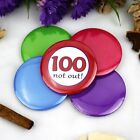 100th Birthday Party Badge - Button Pin Badge