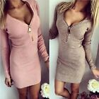 Ladies Sexy Slim Zip Pencil Dress Full Sleeve Fashion Dress for any occasion
