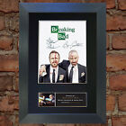 BREAKING BAD No2 Signed Autograph Mounted Reproduction Photo A4 Print 432