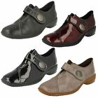 Ladies Rieker Casual Heeled Shoes L3870